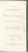 Books:Literature Pre-1900, [James Fenimore Cooper]. The Sea Lions; or, the Lost Sealers. New York: Stringer & Townsend, 1849. First American ed...