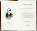 Books:Biography & Memoir, [Joseph Warren]. Biographical Sketch of Gen. Joseph Warren,Embracing the Prominent Events of his Life, and his Boston O...