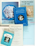 Books:Art & Architecture, [Wedgwood Pottery]. Group of Seven Books on Wedgewood Pottery. Various publishers and dates. Includes four first editions. P... (Total: 7 Items)