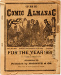 Books:Americana & American History, [Almanac]. The Comic Almanac for the Year 1889.Philadelphia: Morwitz & Co., 1889. Publisher's pictorialprinted wra...