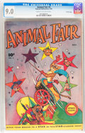 Golden Age (1938-1955):Funny Animal, Animal Fair #3 Crowley Copy pedigree (Fawcett Publications, 1946)CGC VF/NM 9.0 Cream to off-white pages....