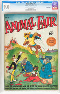 Golden Age (1938-1955):Funny Animal, Animal Fair #4 Crowley Copy pedigree (Fawcett Publications, 1946)CGC VF/NM 9.0 Cream to off-white pages....