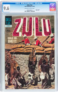 Silver Age (1956-1969):Adventure, Movie Classics Zulu #nn (Dell, 1964) CGC NM+ 9.6 Off-white to white pages....