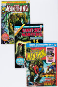 Bronze Age (1970-1979):Horror, Man-Thing Group (Marvel, 1974-81) Condition: Average VF/NM.... (Total: 40 Comic Books)