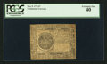 Colonial Notes:Continental Congress Issues, Continental Currency May 9, 1776 $7 PCGS Extremely Fine 40.. ...
