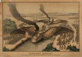 Books:Prints & Leaves, Original Hand-Colored Engraving Entitled: Forward March! NewYork: F.P. Whiting, [n.d., ca. 1860s]. Measuring appro...