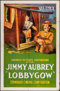 """Movie Posters:Comedy, The Lobbygow (Selznick, 1923). One Sheet (27"""" X 41""""). Comedy.. ..."""