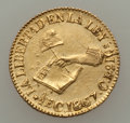 Mexico:Mexico City, Mexico: Republic gold 1/2 Escudo 1867 C-CE AU,...