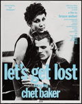 """Movie Posters:Documentary, Let's Get Lost (Zeitgeist, 1988). Promotional Posters (2) (20.25"""" X 25.5"""") Chet Baker and Lily & Chet Baker Styles. Document... (Total: 2 Items)"""