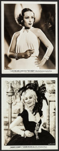 """Movie Posters:Miscellaneous, Dolores del Rio Lot (Warner Brothers, 1930s). Portrait Photos (2) (8"""" X 10""""). Miscellaneous.. ... (Total: 2 Items)"""