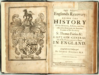 [Featured Lot]. Sprigg[e], Joshua. Anglia Rediviva: Englands Recovery; Being, the History of the Motions, Actio