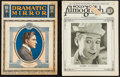 """Movie Posters:Miscellaneous, Dramatic Mirror & Others Lot (Dramatic Mirror Inc, 1919). Magazines (2) (Multiple Pages, approx. 10.25"""" X 13"""") & Handbills (... (Total: 5 Items)"""