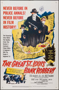 "Movie Posters:Crime, The Great St. Louis Bank Robbery & Other Lot (United Artists,1959). One Sheets (2) (27"" X 41""). Crime.. ... (Total: 2 Items)"