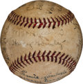 Baseball Collectibles:Balls, 1938 Johnny Vander Meer Last Out Baseball from Second of Two Consecutive No-Hitters....