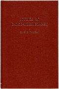 Books:Reference & Bibliography, Fordham, H.G. Studies in Carto-Bibliography British and Frenchand in the Bibliography of Itineraries and Road Books....