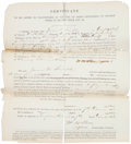 Militaria:Ephemera, Soldier Prayer Book and Discharge Papers....