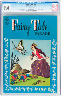 Four Color #87 Fairy Tale Parade - File Copy (Dell, 1945) CGC NM 9.4 Off-white to white pages