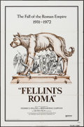 "Movie Posters:Foreign, Fellini's Roma (United Artists, 1972). One Sheet (27"" X 41""). Foreign.. ..."