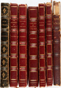 Books:Literature Pre-1900, William Makepeace Thackeray, (writing as M.A. Titmarsh). Group ofSeven Books. Various publishers and dates, ca. 1840s. Twel...(Total: 7 Items)