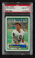 Football Cards:Singles (1970-Now), 1983 Topps Jim McMahon #33 PSA Gem Mint 10....