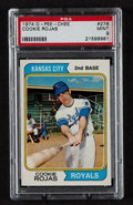 Baseball Cards:Singles (1970-Now), 1974 O-Pee-Chee Cookie Rojas #278 PSA Mint 9 - Pop One! ...