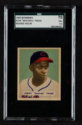 Baseball Cards:Singles (1940-1949), 1949 Bowman Satchell Paige #224 SGC 70 EX+ 5.5....