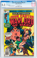 Bronze Age (1970-1979):Adventure, John Carter, Warlord of Mars #5 35¢ Price Variant (Marvel, 1977) CGC VF+ 8.5 Off-white to white pages....