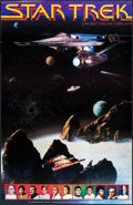 "Movie Posters:Science Fiction, Star Trek: The Motion Picture (Sales Corporation of America, 1979).Commercial Poster (22"" X 34"") DS, 2-D & 3-D. Science Fic..."