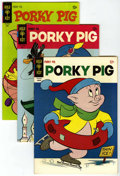 Bronze Age (1970-1979):Cartoon Character, Porky Pig File Copies Group (Gold Key, 1967-75) Condition: AverageNM-.... (Total: 5 Comic Books)