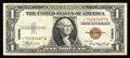 Small Size:World War II Emergency Notes, Fr. 2300* $1 1935A Hawaii Silver Certificate. Extremely Fine.. An otherwise Extremely Fine $1 Hawaii star with the only ...