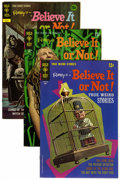 Bronze Age (1970-1979):Horror, Ripley's Believe It or Not! #19, 20, and 33 File Copies Group (GoldKey, 1970-72) Condition: Average NM-.... (Total: 3 Comic Books)