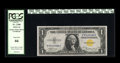 Small Size:World War II Emergency Notes, Fr. 2306 $1 1935A North Africa Silver Certificate. PCGS Gem New 66.. This North Africa note off the R-C block is quite vivid...