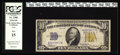 Small Size:World War II Emergency Notes, Fr. 2308 $10 1934 Mule North Africa Silver Certificate. PCGS Fine15.. It is a rare sale when we are privileged to offer one...