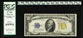 Small Size:World War II Emergency Notes, Fr. 2309 $10 1934A North Africa Silver Certificate. PCGS Gem New 65PPQ.. These original specimens have all but dried up in t...