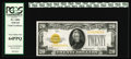 Small Size:Gold Certificates, Fr. 2402 $20 1928 Gold Certificate. PCGS Very Choice New 64PPQ.. A pack fresh $20 Gold Certificate with the coveted PPQ hono...