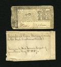 Colonial Notes:Maryland, Maryland April 10, 1774 $2 Fine....