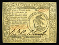 Colonial Notes:Continental Congress Issues, Continental Currency February 17, 1776 $3 Gem New. An extraordinaryContinental, with broad, even margins all around on both...