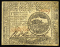 Colonial Notes:Continental Congress Issues, Continental Currency February 17, 1776 $4 Choice About New. Asingle light vertical fold from the Choice New grade. Boldly s...
