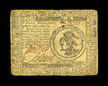 Colonial Notes:Continental Congress Issues, Continental Currency July 22, 1776 $3 Fine. Nice signatures arefound on this note with just a couple of minor edge abrasion...