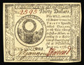 Colonial Notes:Continental Congress Issues, Continental Currency July 22, 1776 $30 Choice About New. This notehas the appearance, margins, color and clarity of a Super...