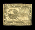 Colonial Notes:Continental Congress Issues, Continental Currency November 2, 1776 $6 About New. The note hastwo pinholes and a broad corner fold, but nice high-grade C...