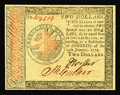 Colonial Notes:Continental Congress Issues, Continental Currency January 14, 1779 $2 Gem New. A lovely examplefrom this eleventh and final issue of Continentals. It's ...