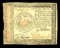 Colonial Notes:Continental Congress Issues, Continental Currency January 14, 1779 $35 Very Fine. A wellmargined example of this odd denomination....