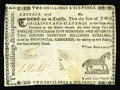 Colonial Notes:Georgia, Georgia 1776 2s/6d Extremely Fine. This shilling-denomination notehas the eye appeal of a Choice XF piece, which it is, sav...