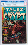 Golden Age (1938-1955):Horror, Tales From the Crypt #42 (EC, 1954) CGC VF- 7.5 Off-white to whitepages....