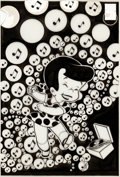Original Comic Art:Covers, Warren Kremer (attributed) Little Dot #119 Cover OriginalArt (Harvey, 1968)....