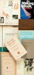 Books:Medicine, [Medicine]. Large Group of Books on Various Topics in Medicine. Various Publishers and dates. Publisher's bindings. May cont...