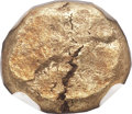Ancients:Greek, Ancients: IONIA. Uncertain City. Ca. 680-650 BC. EL third-stater ortrite (11mm, 4.43 gm). ...