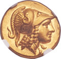 Ancients:Greek, Ancients: MACEDONIAN KINGDOM. Alexander III the Great (336-323 BC). AV stater (20mm, 8.58 gm, 11h)....