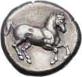 Ancients:Greek, Ancients: THRACE. Maroneia. Ca. 386-347 BC. AR stater (23mm, 10.94gm, 9h). ...